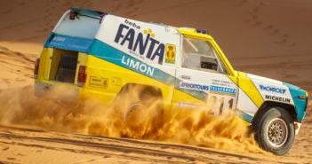 Nissan Motorsport, Fanta Limon, Dakar, off road, restoration