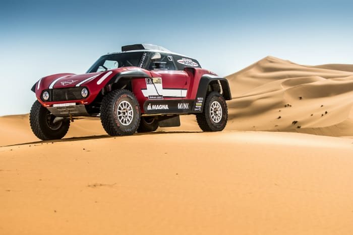 Mini, off road, Dakar, new competition car, buggy, 2WD, 2018, X-Raid