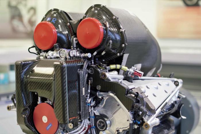 Mercedes-AMG, W08, EQ Power+, 1.6-liter, V6, hybrid, Formula 1, F1, Power Unit, Powertrain of the Year, PMW Expo, Awards, 2017