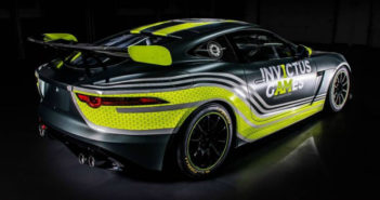 Jaguar, F-Type, GT4, British GT, Invictus Games,