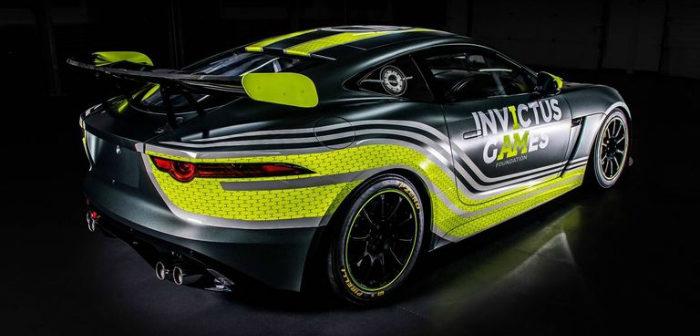 Jaguar, F-Type, GT4, British GT, Invictus Games,