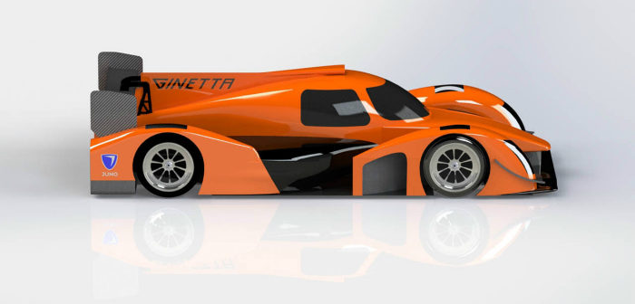 Ginetta, Juno, LMP3, new competition car,