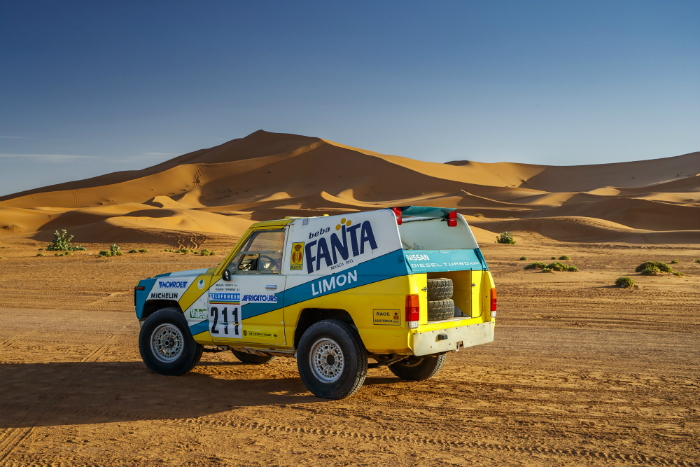 Nissan Motorsport, Fanta Limon, Dakar, off road, restoration