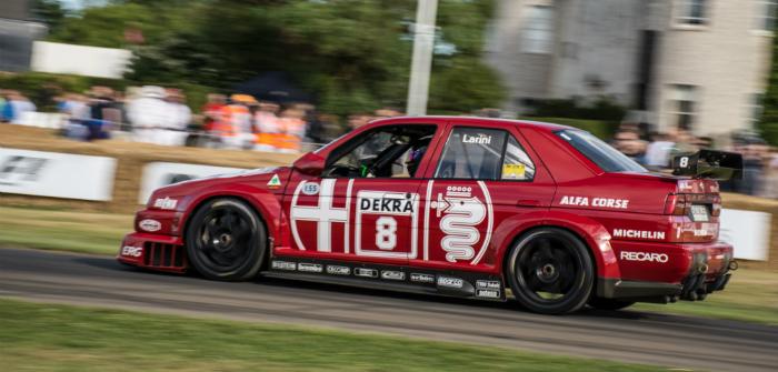 Alfa Romeo, 155, DTM, V6, Ti, Track Test, Goodwood, FoS, Festival of Speed