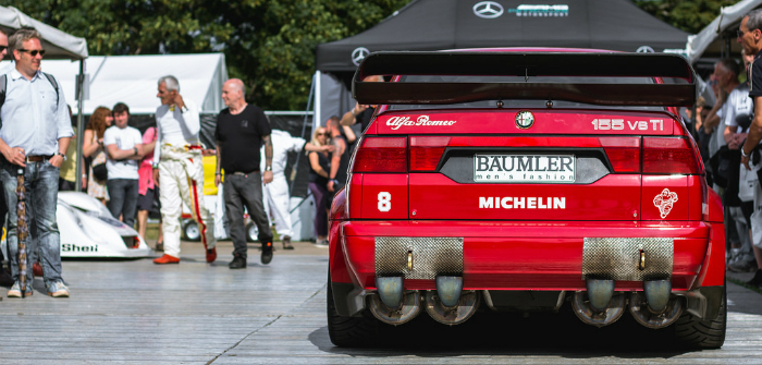 Alfa Romeo, 155, DTM, V6, Ti, Track Test, Goodwood, FoS, Festival of Speed