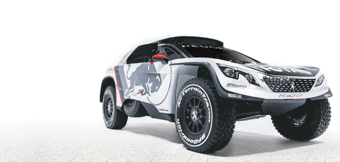Peugeot Sport, 3008 DKR, off road, dakar, rallye du maroc, rallyraid