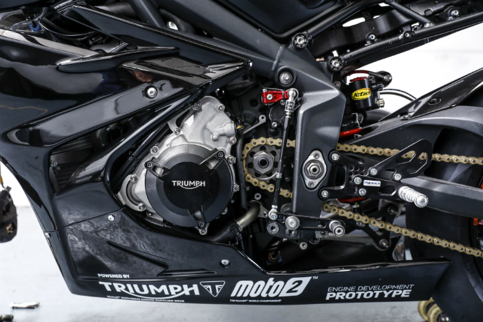 Triumph, MotoGP, Moto2, engine technology, 2019