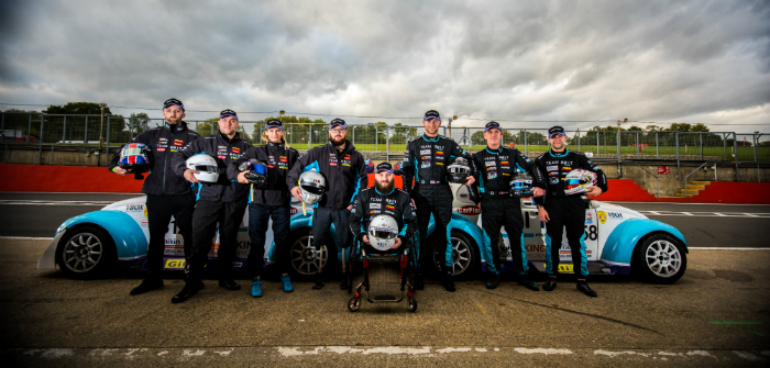 Team BRIT, MME Motorsport, hand controls, disabled motorsport, driver line-up, 2018