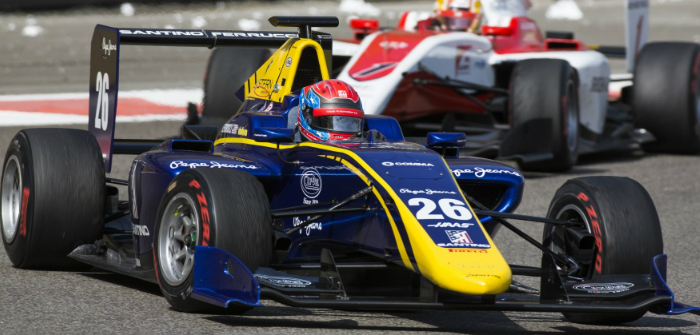 GP3, single seater, DAMS, MP Motorsport