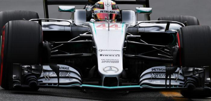 Qualcomm, Mercedes-AMG W08 EQ Power+, Formula 1