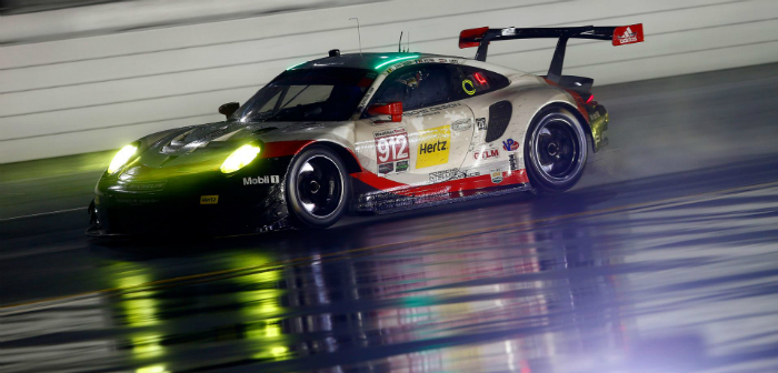 Porsche Motorsport, 911 RSR, engine technology