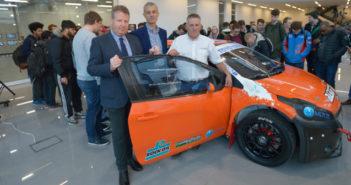 Albatec Racing, NCME, Bolton University, workshop, partnership, FIA, World Rallycross, Monster Energy