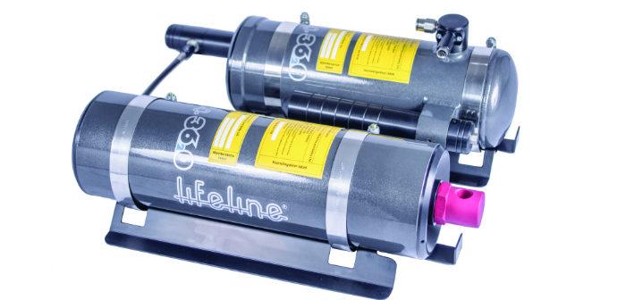 Lifeline Zero 3620 influenced extinguishers