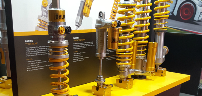 Ohlins dampers at PMW Expo 2017
