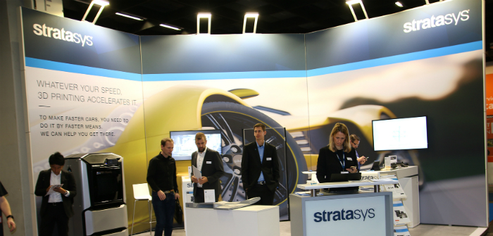 Stratasys, 3D printing, ALM, demonstrations, PMWX2017, Show News, PMW Expo