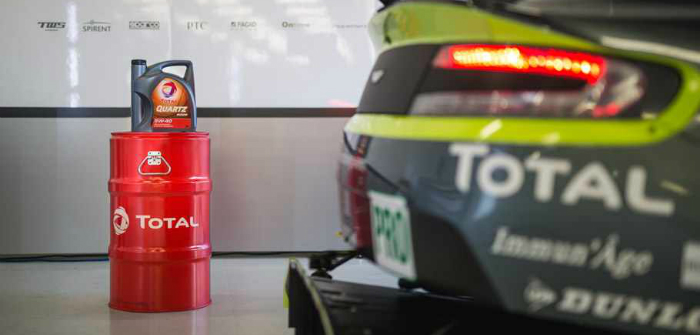 Total, Aston Martin Racing, AMR, Vantage, V8, AMG, LM GTE, FIA, WEC, endurance racing, fuel, partnerships