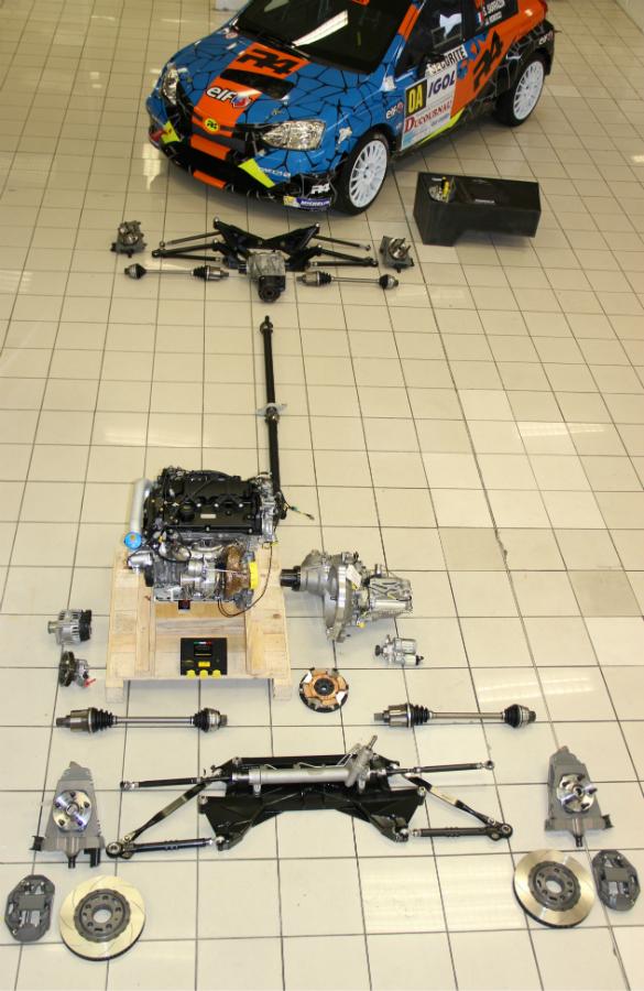 Oreca, FIA, R4, new competition car, off road
