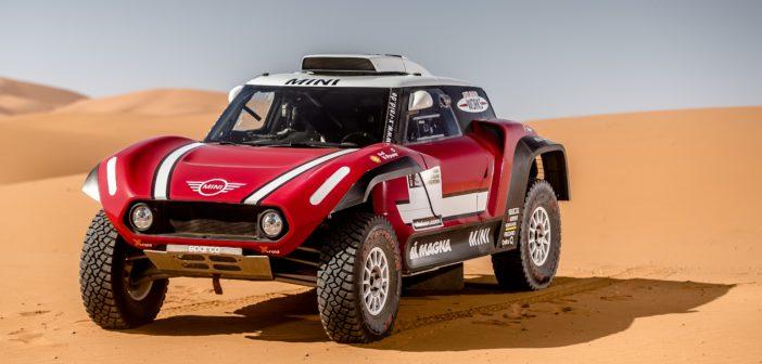 Mini, John Cooper Works, BMW, Dakar, 2018, 2WD, Buggy, new competition car