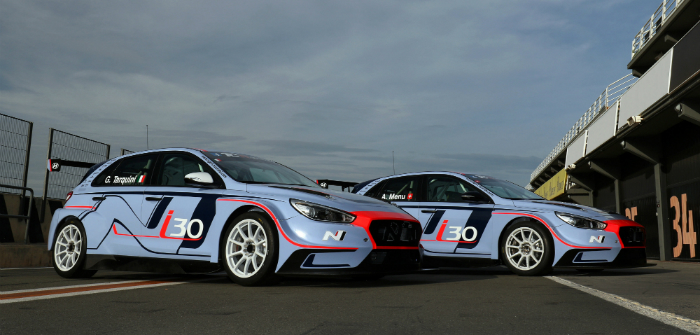 TCR, Korea, Hyundai, tin tops, new race series