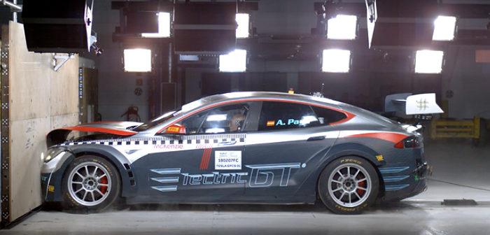 Electric, GT, Tesla, P100D, age of light, EGT, electric motorsport
