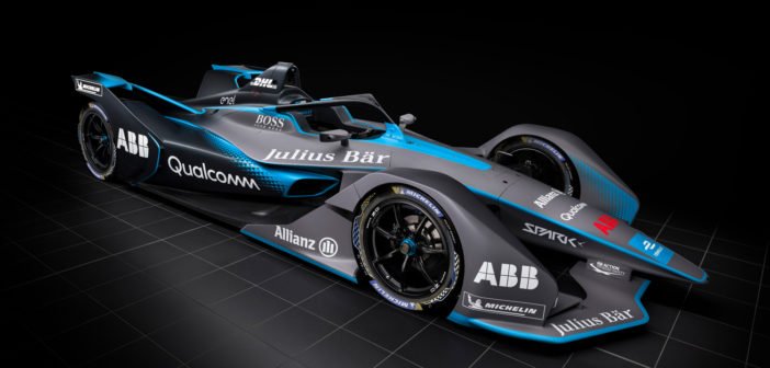 Gen2 Formula E car makes its debut