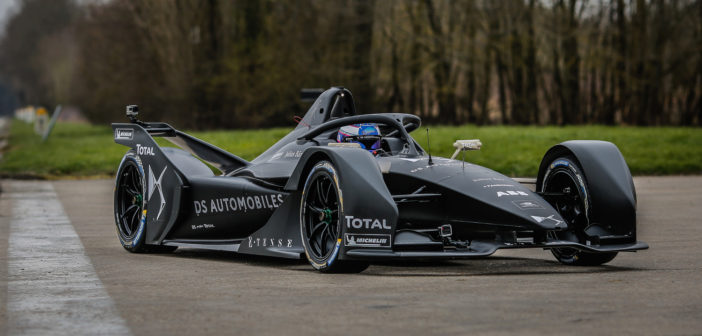 DS E-Tense FE 19 makes debut track run in France ahead of Formula E season 5
