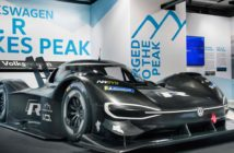 VW unveils its all-electric Pikes Peak challenger