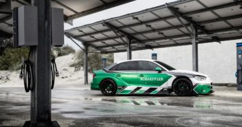 Schaeffler transfers Formula E technology to an Audi RS3