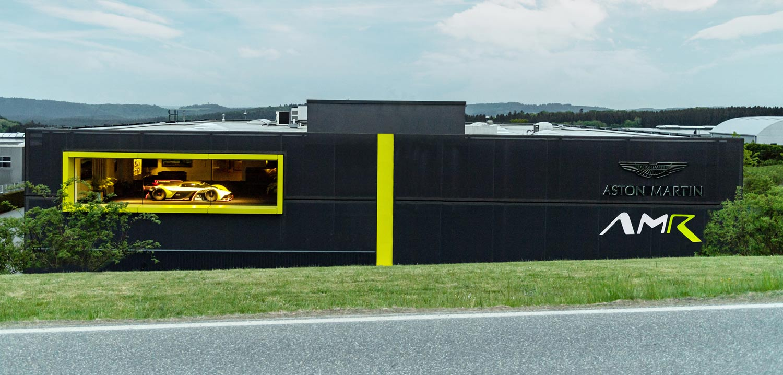 Aston Martin Opens Amr Racing Center At Nurburgring Professional Motorsport World