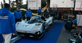 VW Motorsport develops rapid-charging system for Pikes Peak EV challenger