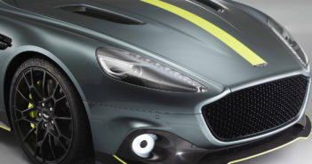 Aston Martin Racing unveils the new V12 Rapide AMR