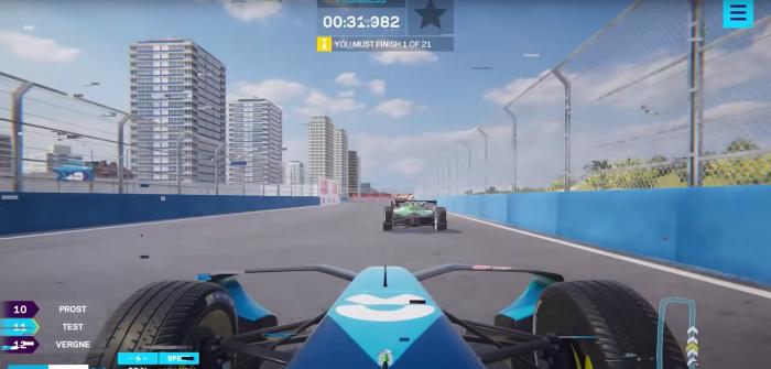 Formula E and Virtually Live develop eSports virtual race software