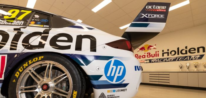 Triple Eight signs deal with Hewlett-Packard