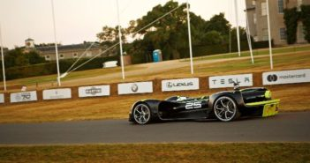 Autonomous Robocar race car completes Goodwood Festival of Speed hillclimb