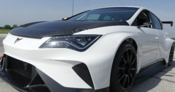 Electric Cupra e-Racer ventures on track for the first time