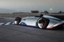Mercedes-Benz unveils all-electric Vision EQ Silver Arrow