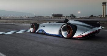 Mercedes-Benz unveils all-electric Vision EQ Silver Arrow