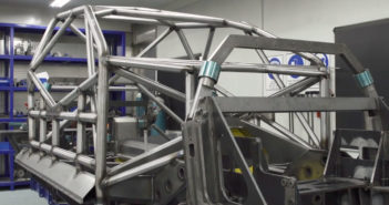 Tickford Racing shows off first Mustang-bodied chassis for 2019