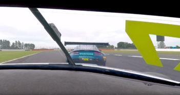 Marco Sorensen in the TF Sport Aston Martin Vantage GT3