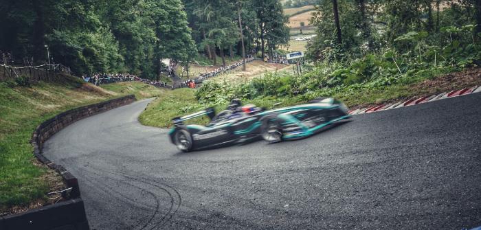 Jaguar and GKN Driveline set UK course record with Formula E car