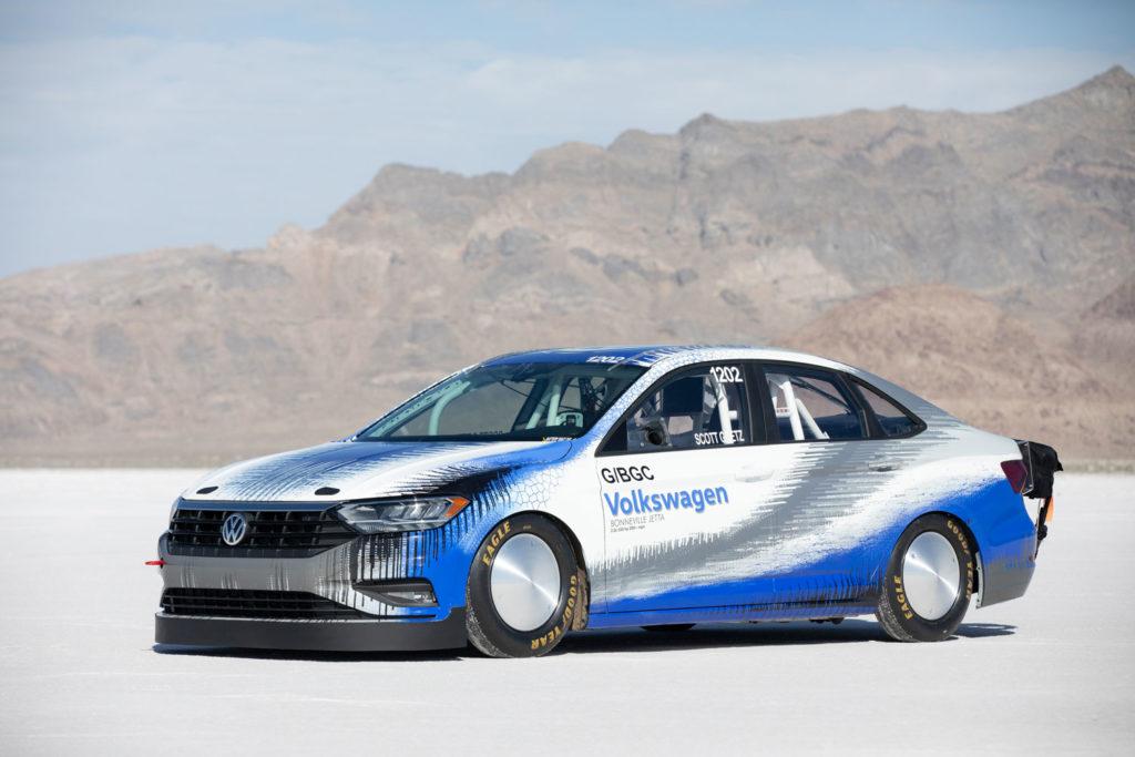 Volkswagen breaks SCTA blown gas coupe record