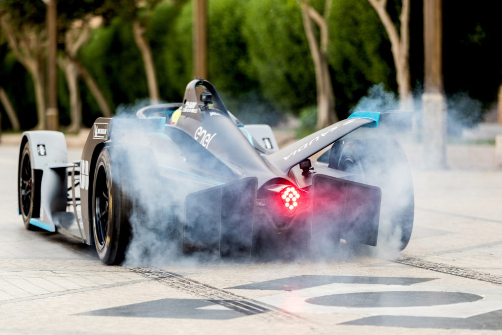 Formula E Gen2 racer's first all-electric lap driven in Saudi Arabia