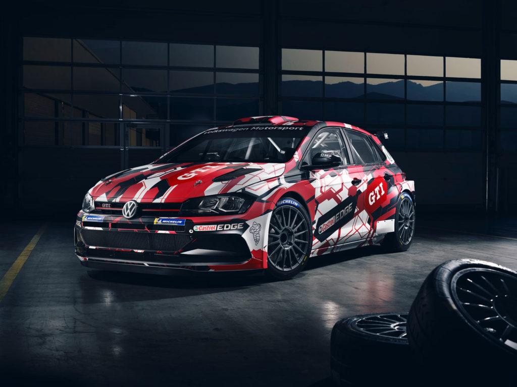 Volkswagen Motorsport unveils Polo GTI R5 livery