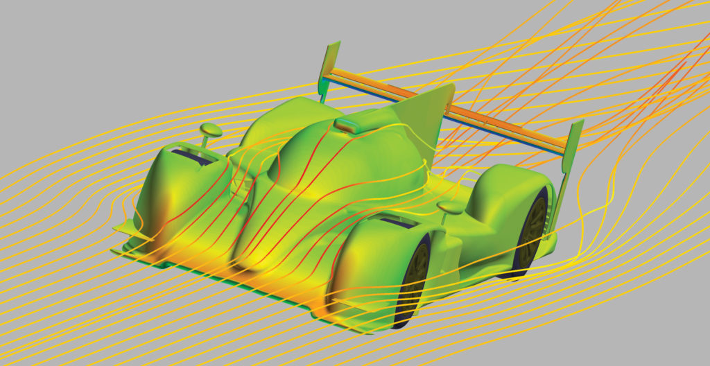 Toyota Motor Sports Unit Development Division uses CFD to increase performance