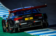 Audi Motorsport DTM drivers have first taste of turbo RS5