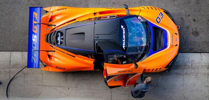 McLaren Automotive's 720s GT3 set for race debut