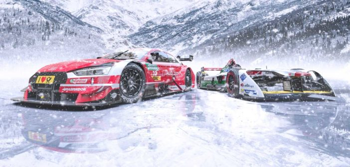 Audi to showcase e-tron FE04 and RS 5 DTM at GP Ice Race