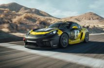 Porsche develops first production racer with natural-fiber body parts