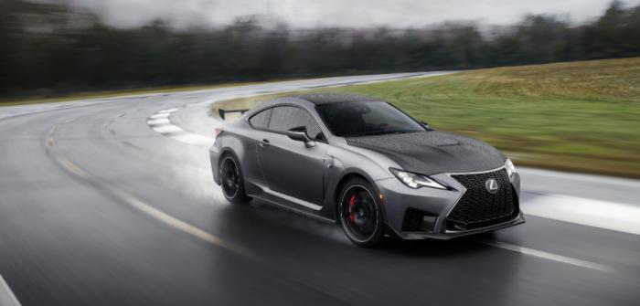 Lexus unveils 2020 Track Edition RC F