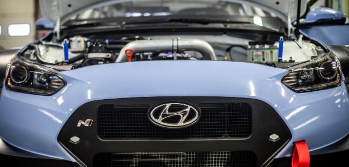 Hyundai Motorsport debuts the Velostar N TCR racer